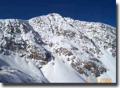 The magnificent summit of Torreys